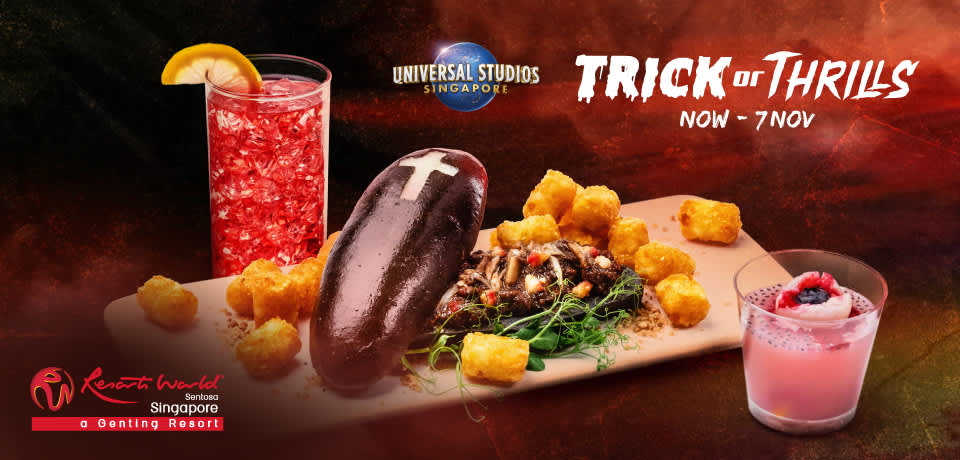 halloween themed set meal