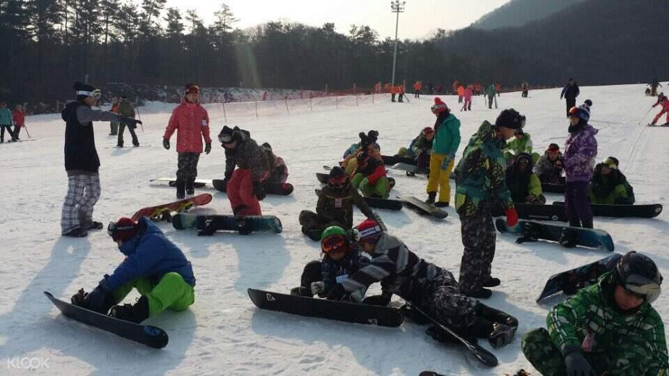 韩国芝山滑雪一日游