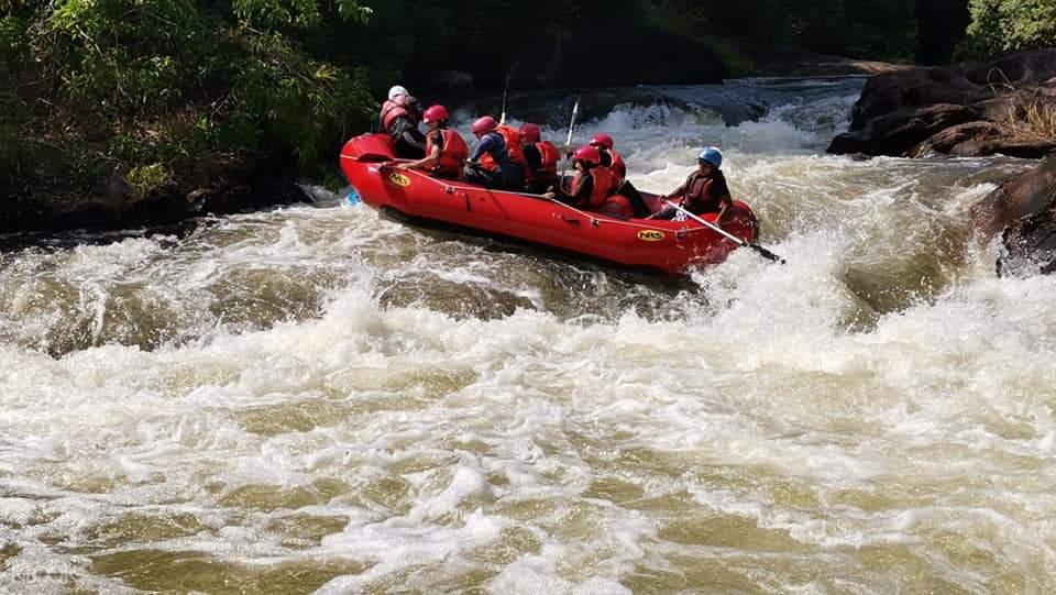 white water rafting in Selangor River