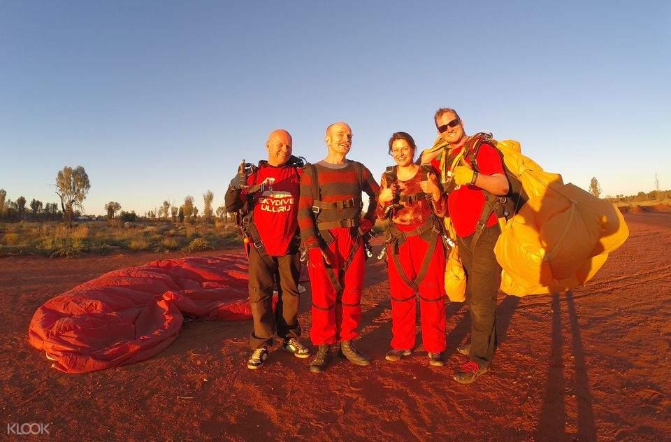 skydive uluru group