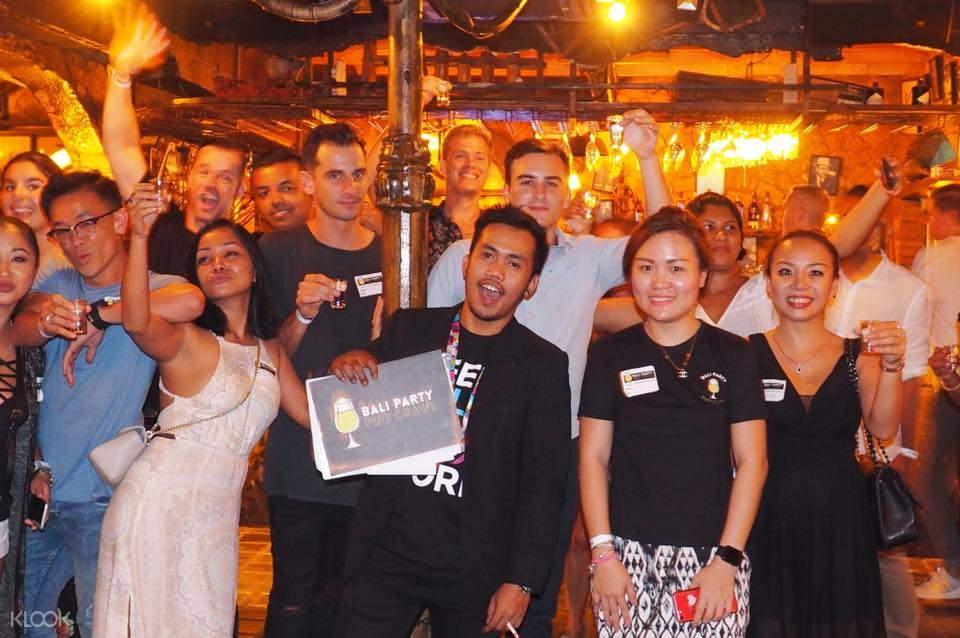 巴厘岛酒吧串游体验
