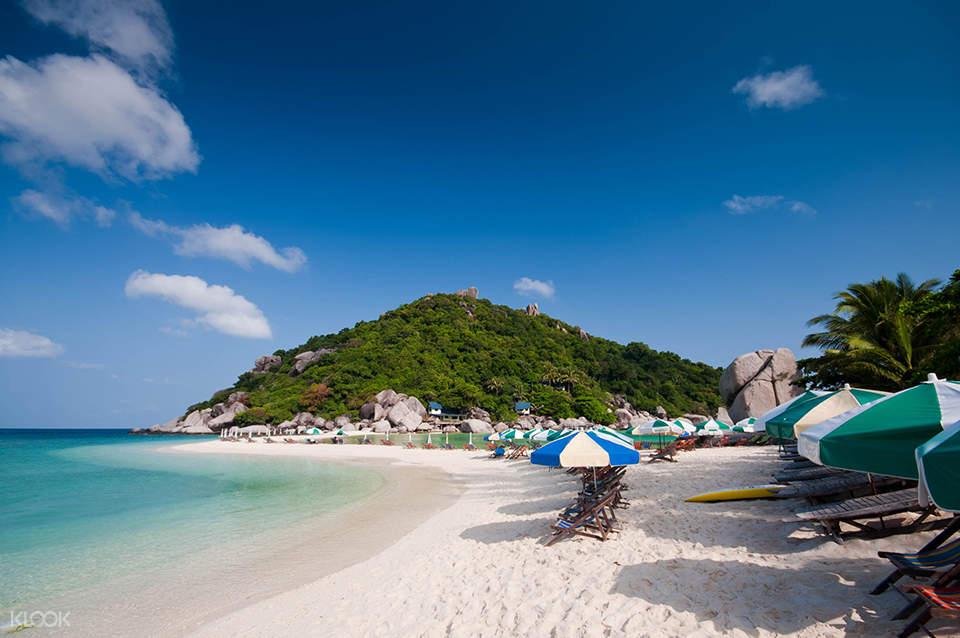 white beach in thailand