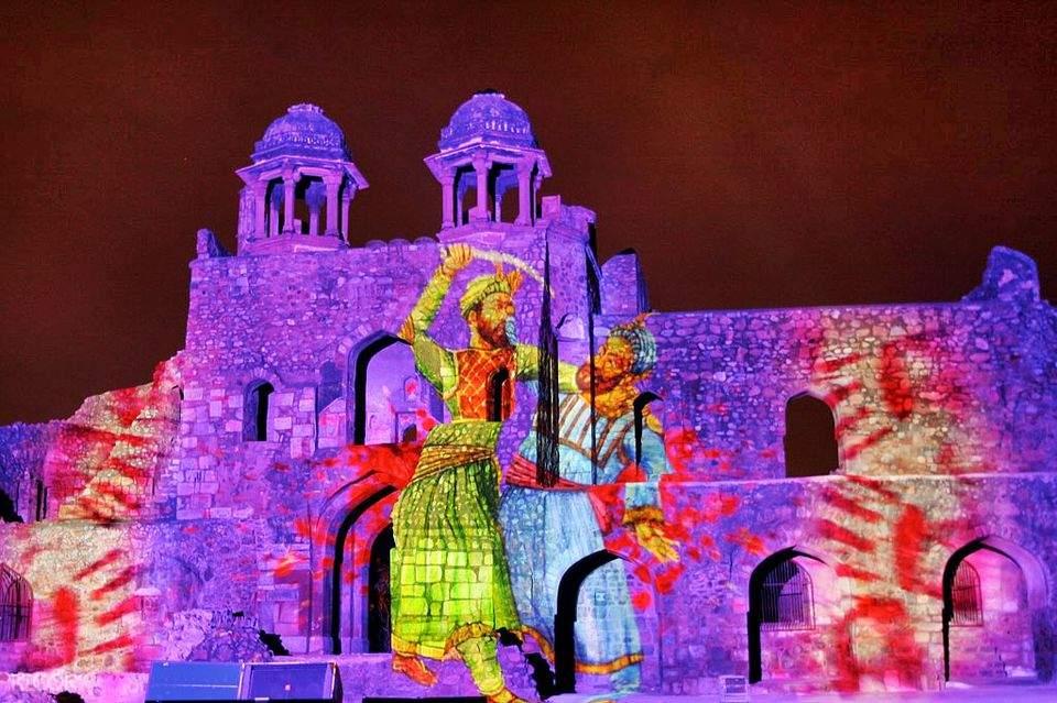 印度 戈爾康達城堡 & 燈光音樂秀