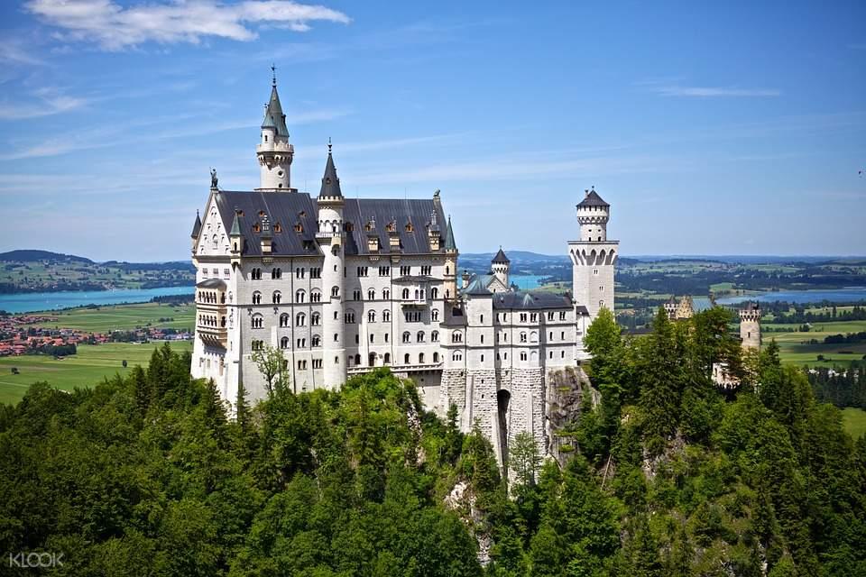 新天鵝堡一日遊慕尼黑,德國新天鵝堡,新天鵝堡交通,新天鵝堡門票