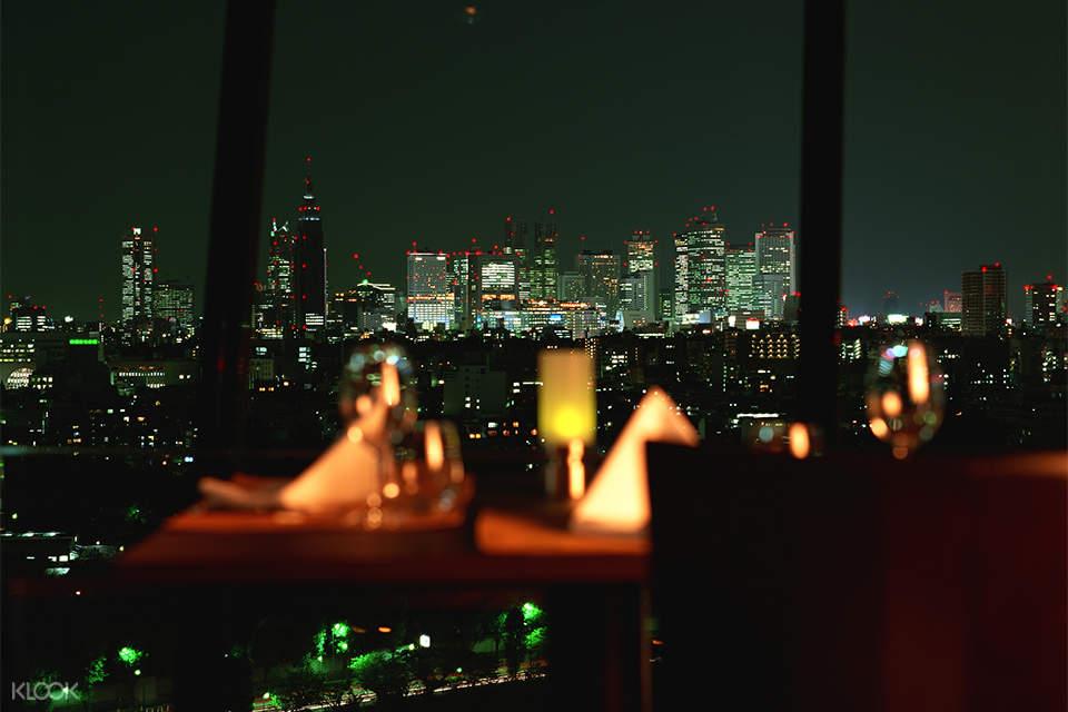 the sky city view
