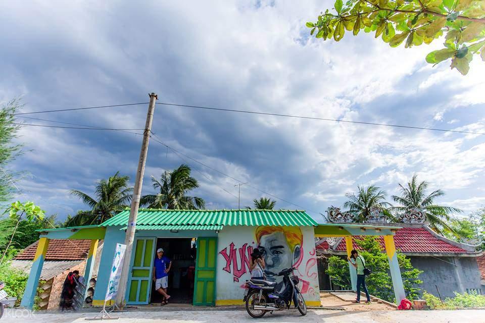 越南三青壁畫村