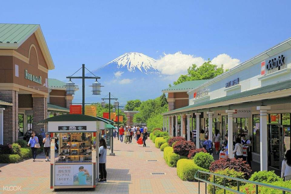 shopping area in gotemba premium outlets