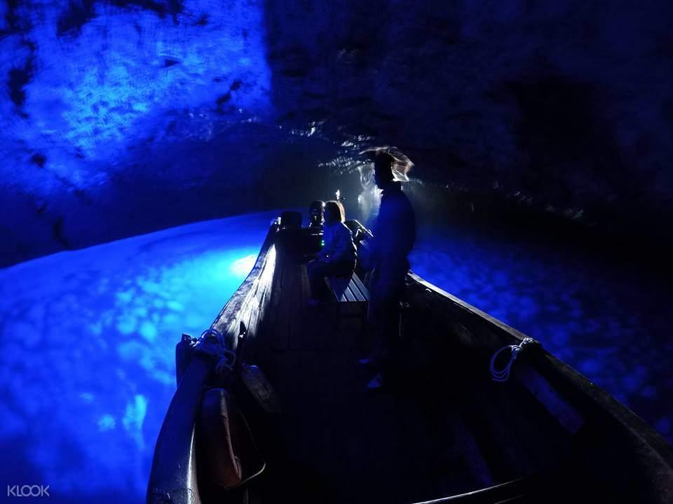 小樽蓝洞游轮体验,日本洞穴,梦幻洞穴体验