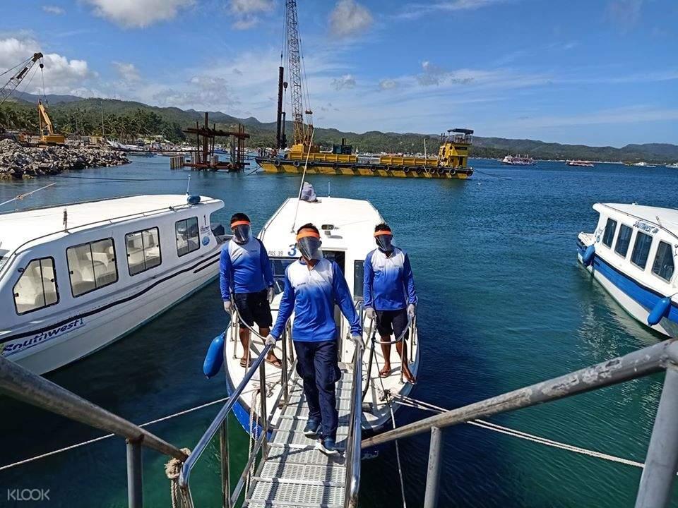 speedboat for Kalibo transfer