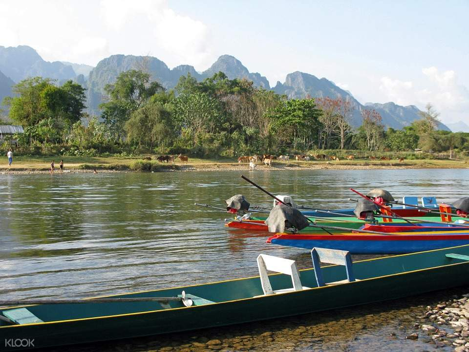 Phou Khao Khouay自然保护区一日游