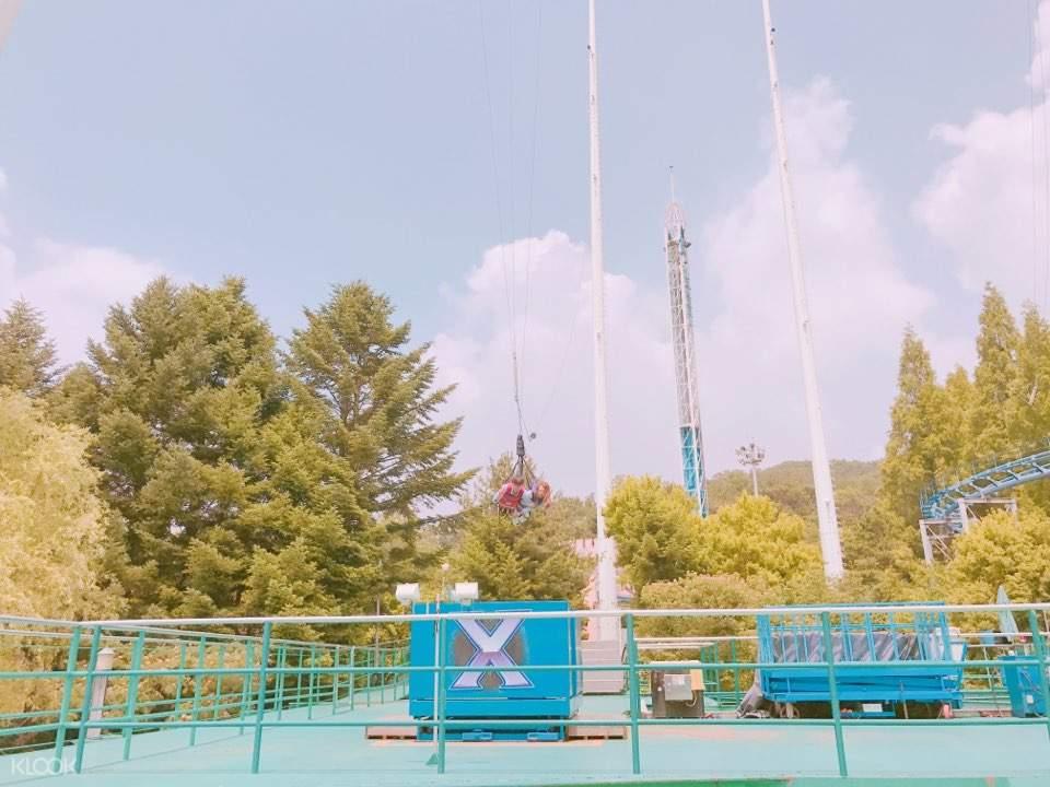 sky x admission ticket seoul land