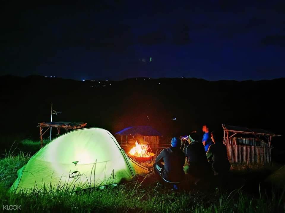 Camping at The Peak Campsite