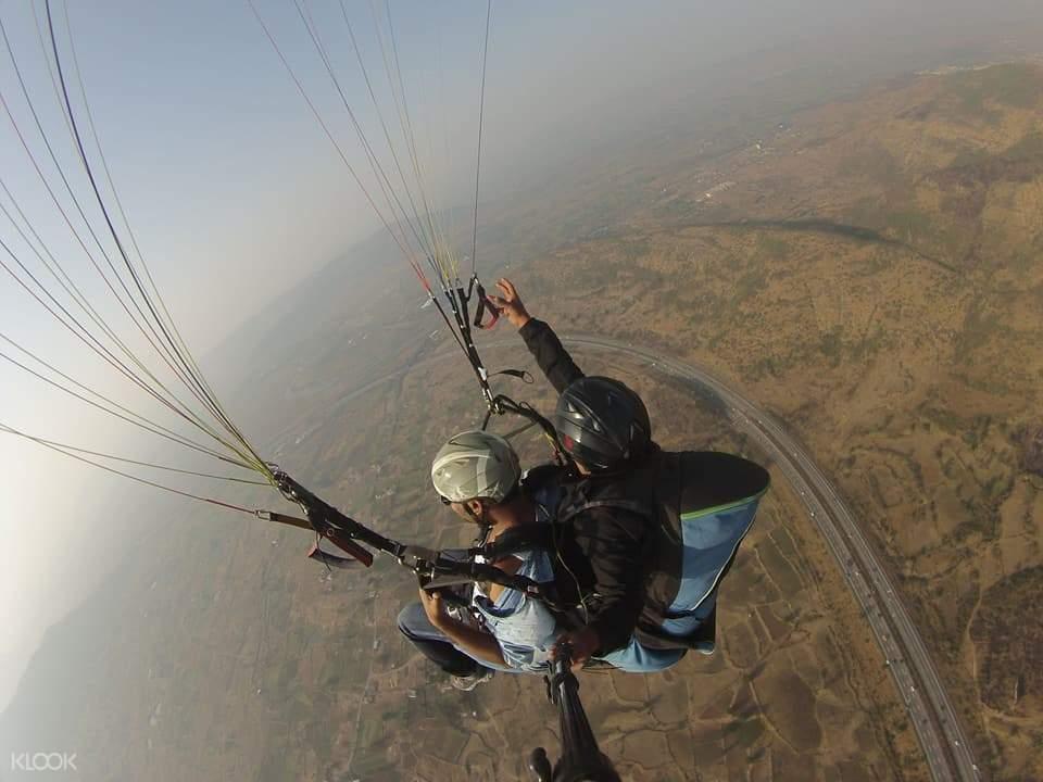 kamshet paragliding