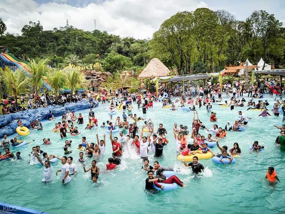 Santasea waterpark in Sukabumi