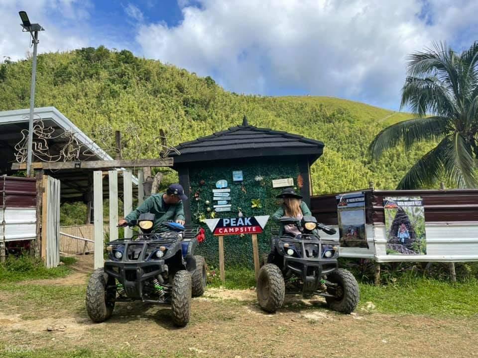 The Peak ATV ride
