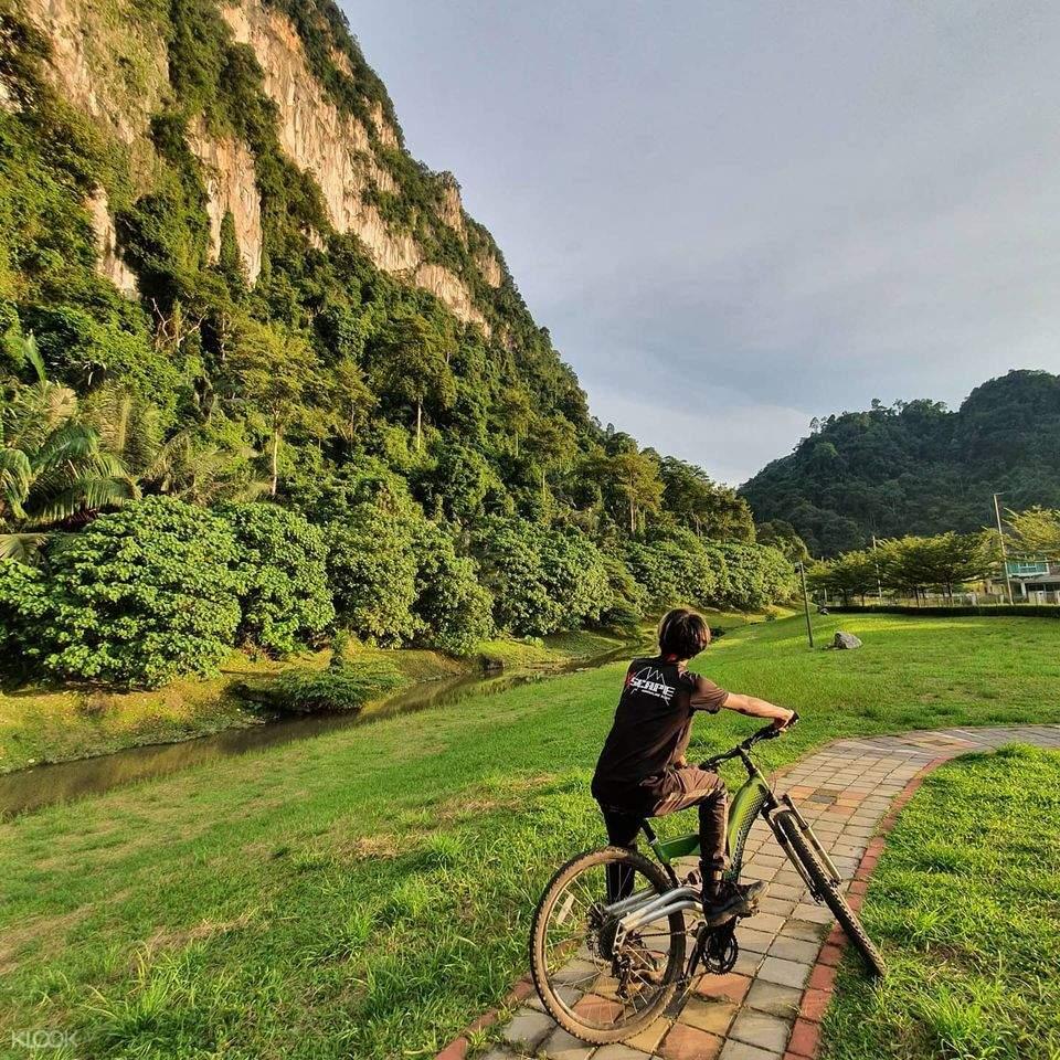 cycling in Xscape Tambun