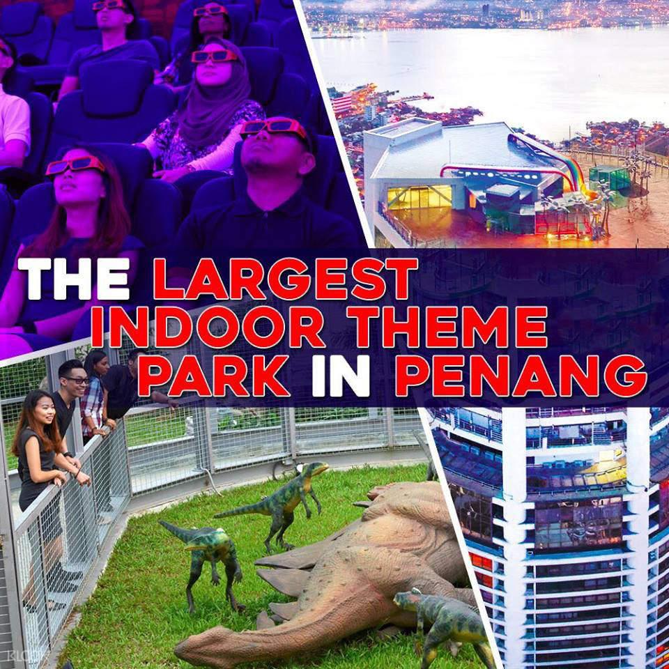 槟城光大大厦顶层观光游览