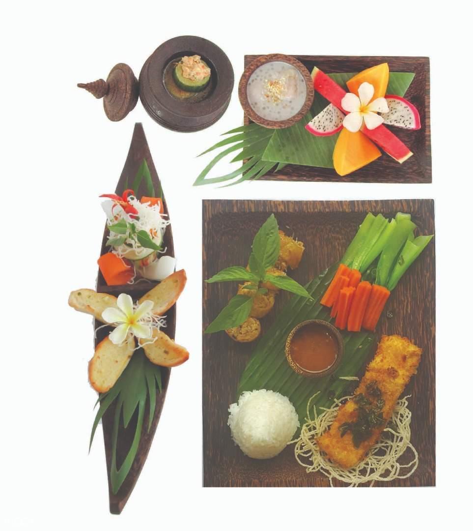 Khmer Set por cuisine siem reap cambodia