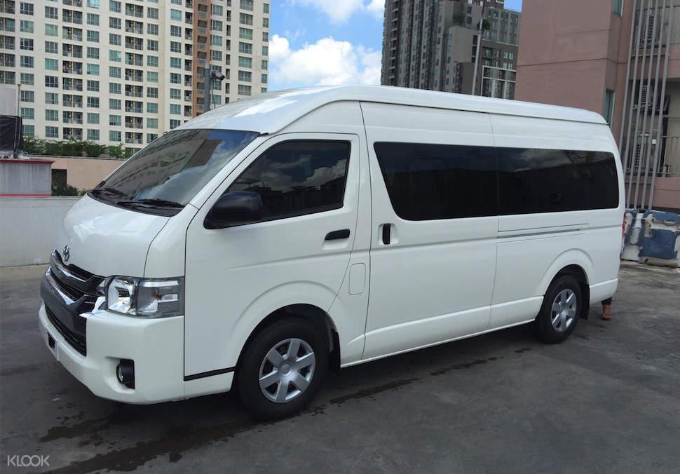 Van for 10pax