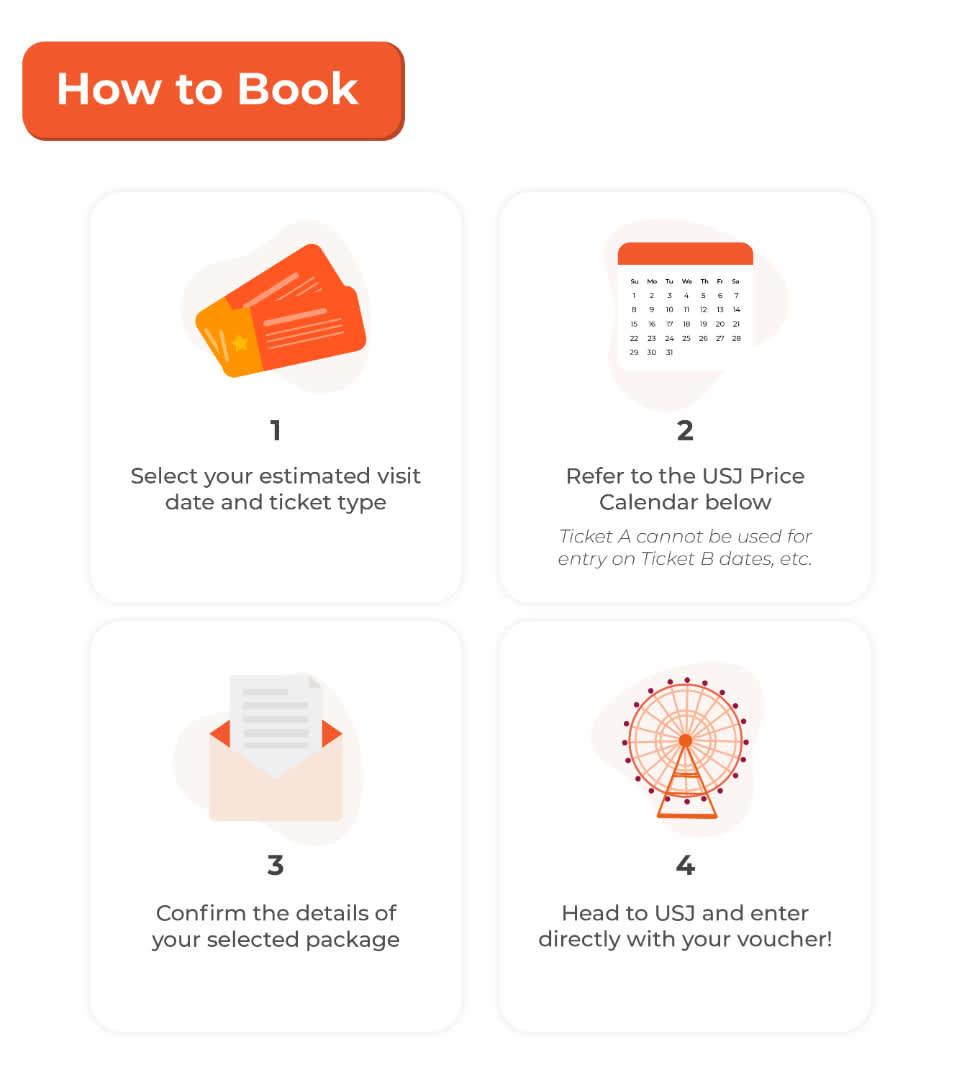 How to Book Universal Studios Japan ticket