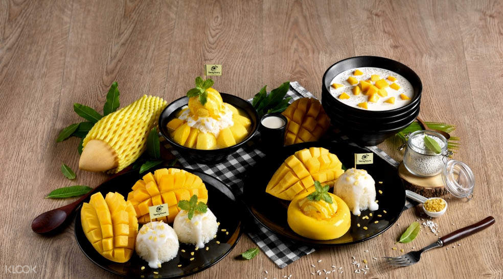 Mango Desserts Yenly Yours di Bangkok