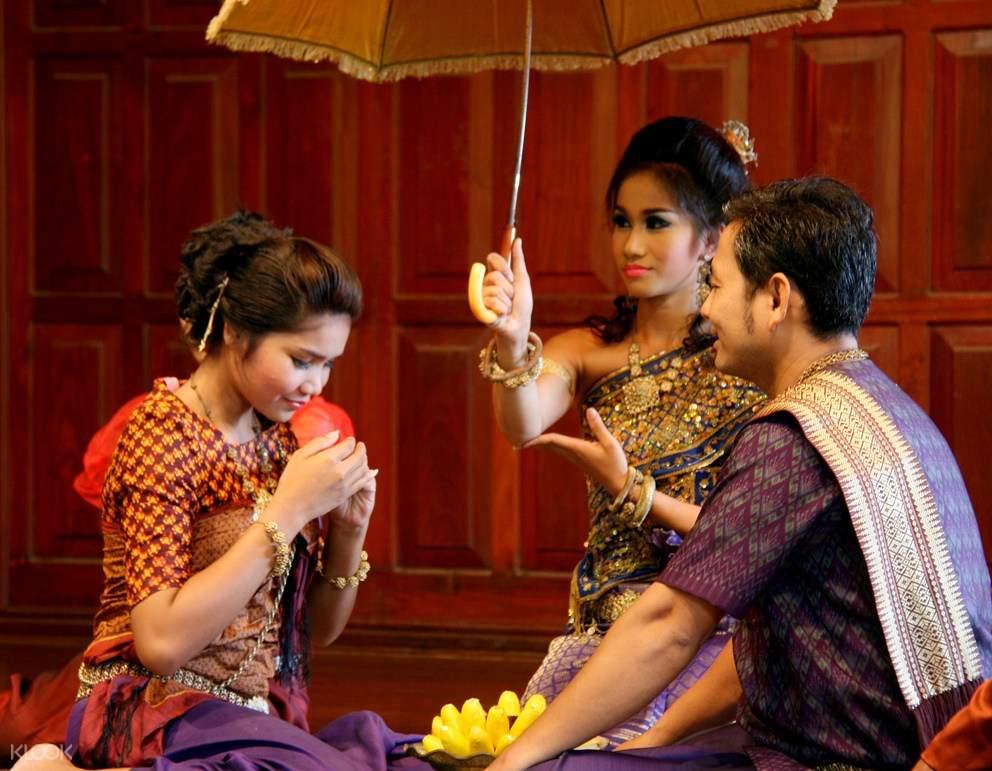 暹粒柬埔寨文化村