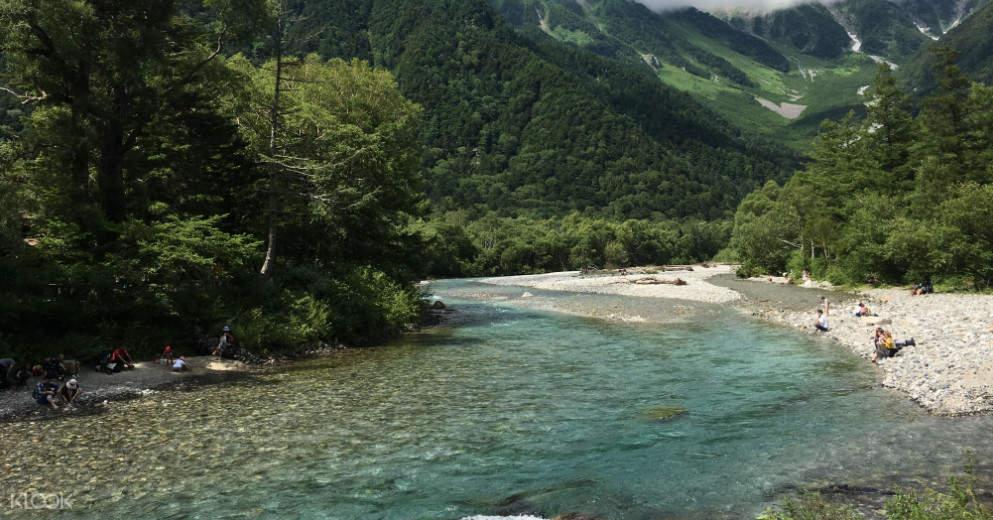 Chubu Sangaku National Park from tokyo