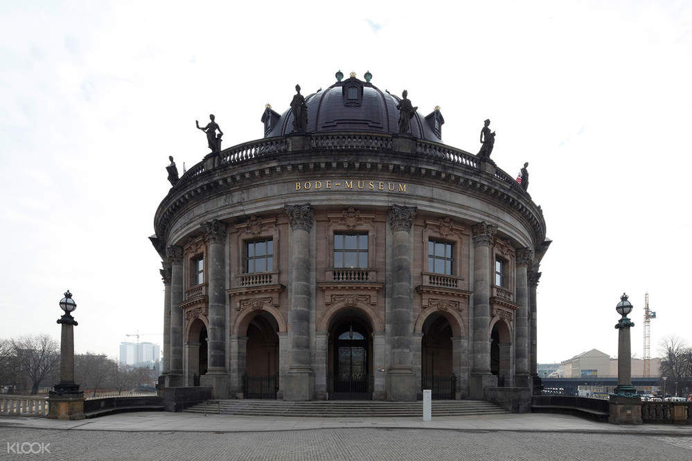 The front of Bode Museum