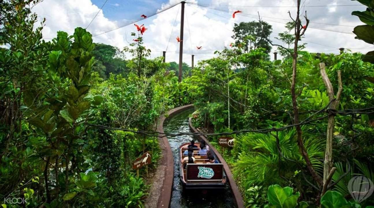 River Safari boat adventure