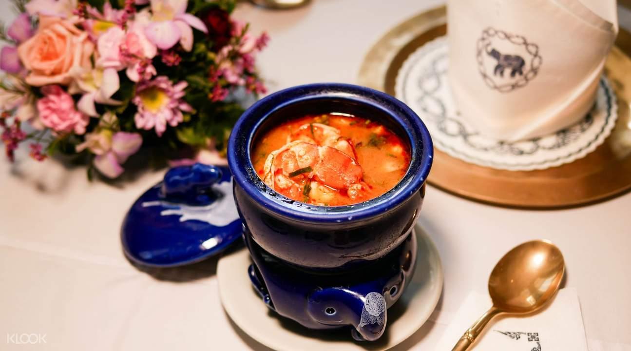 藍象餐廳的冬陰功湯