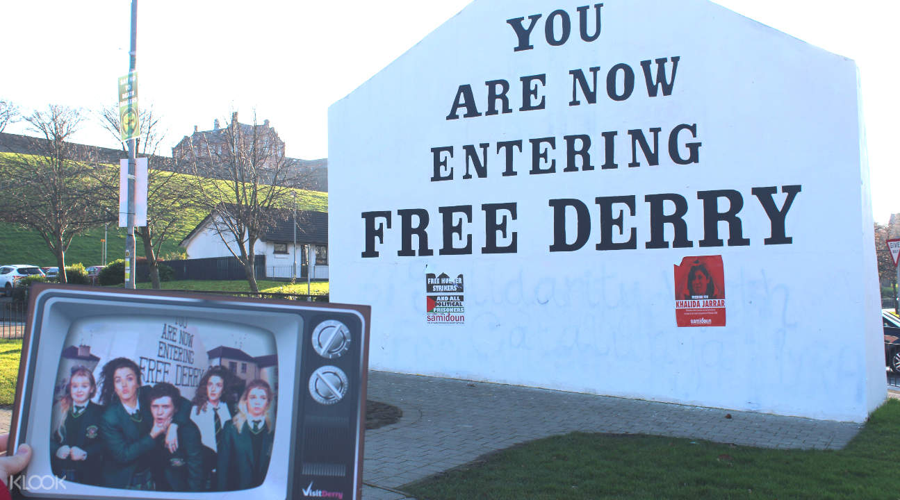 a Derry Girl filming site