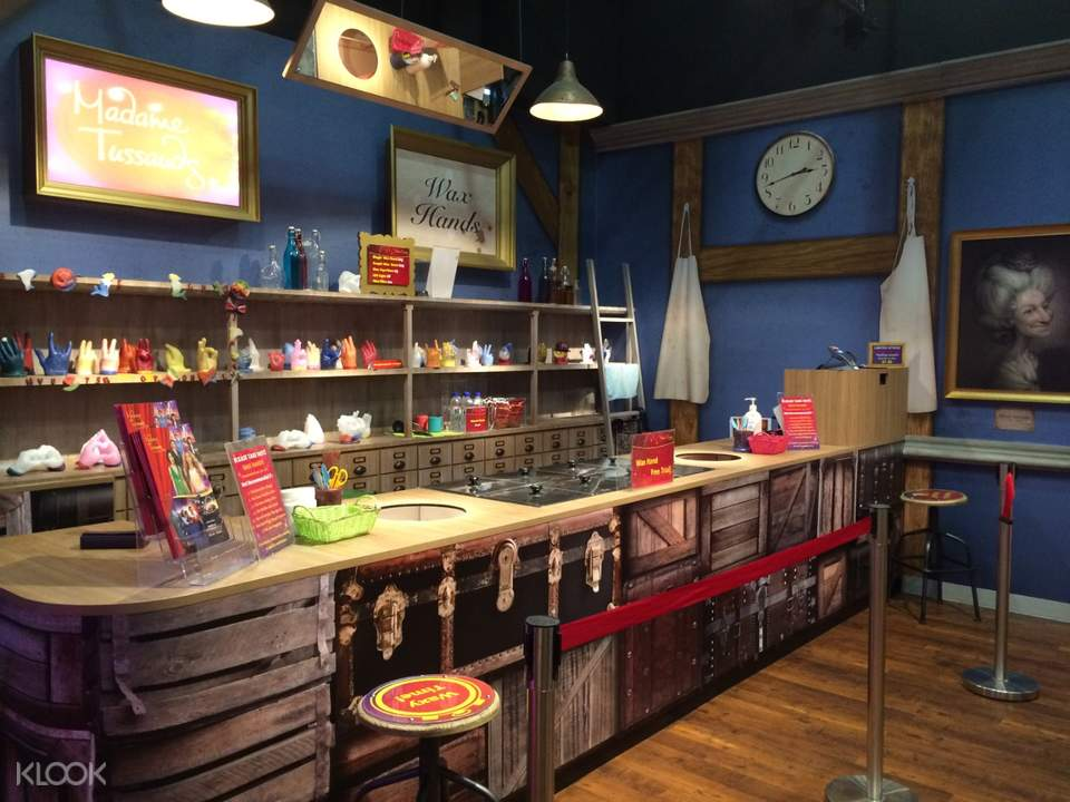 Wax Hand Workshop Counter
