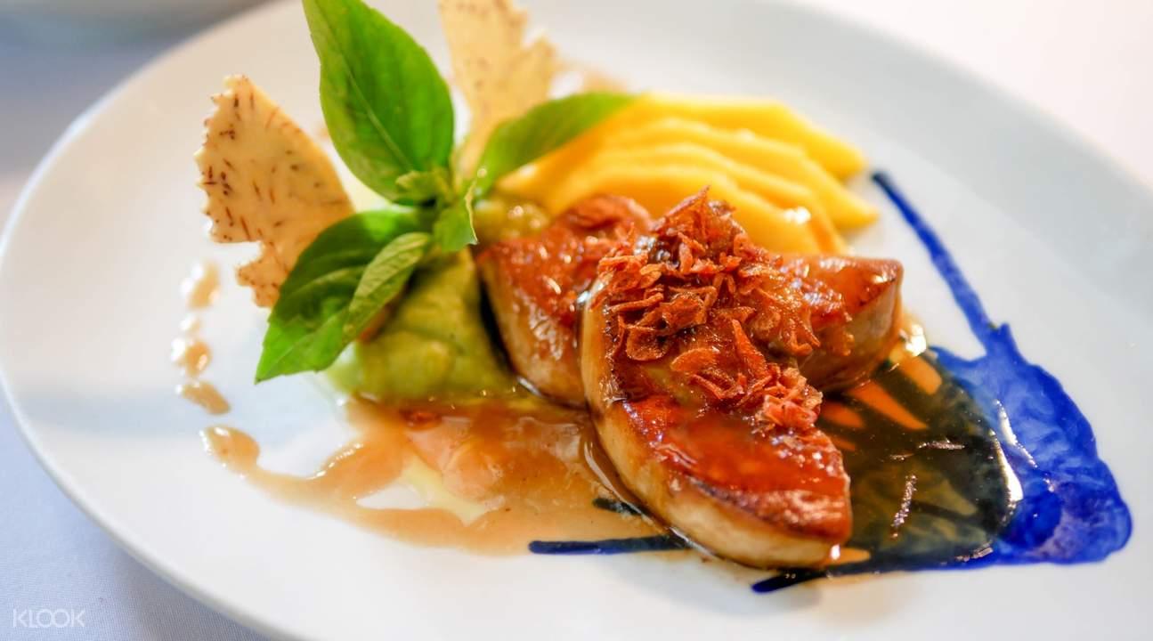 藍象餐廳 - 沙吞的鵝肝