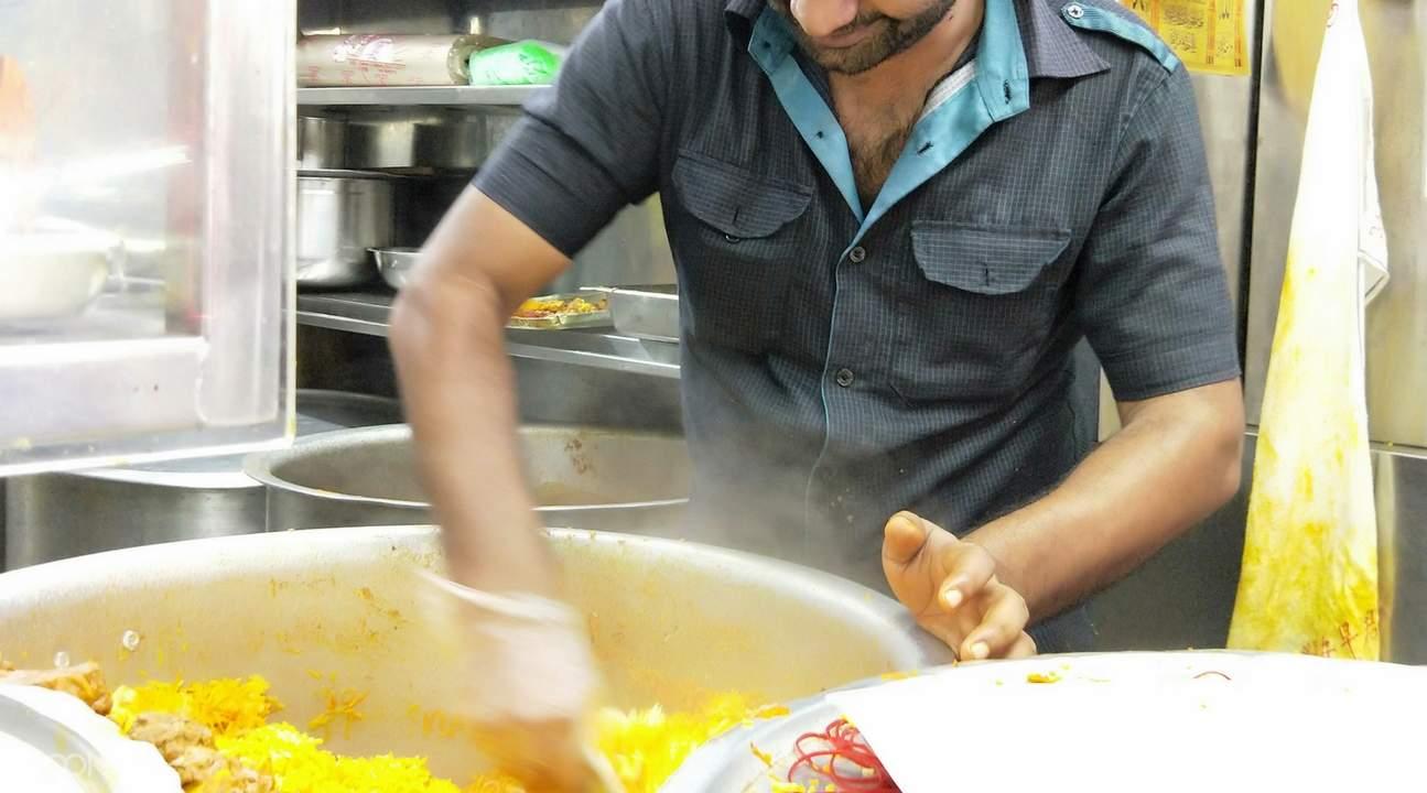 Allauddin's Briyani in Tekka Centre set meal