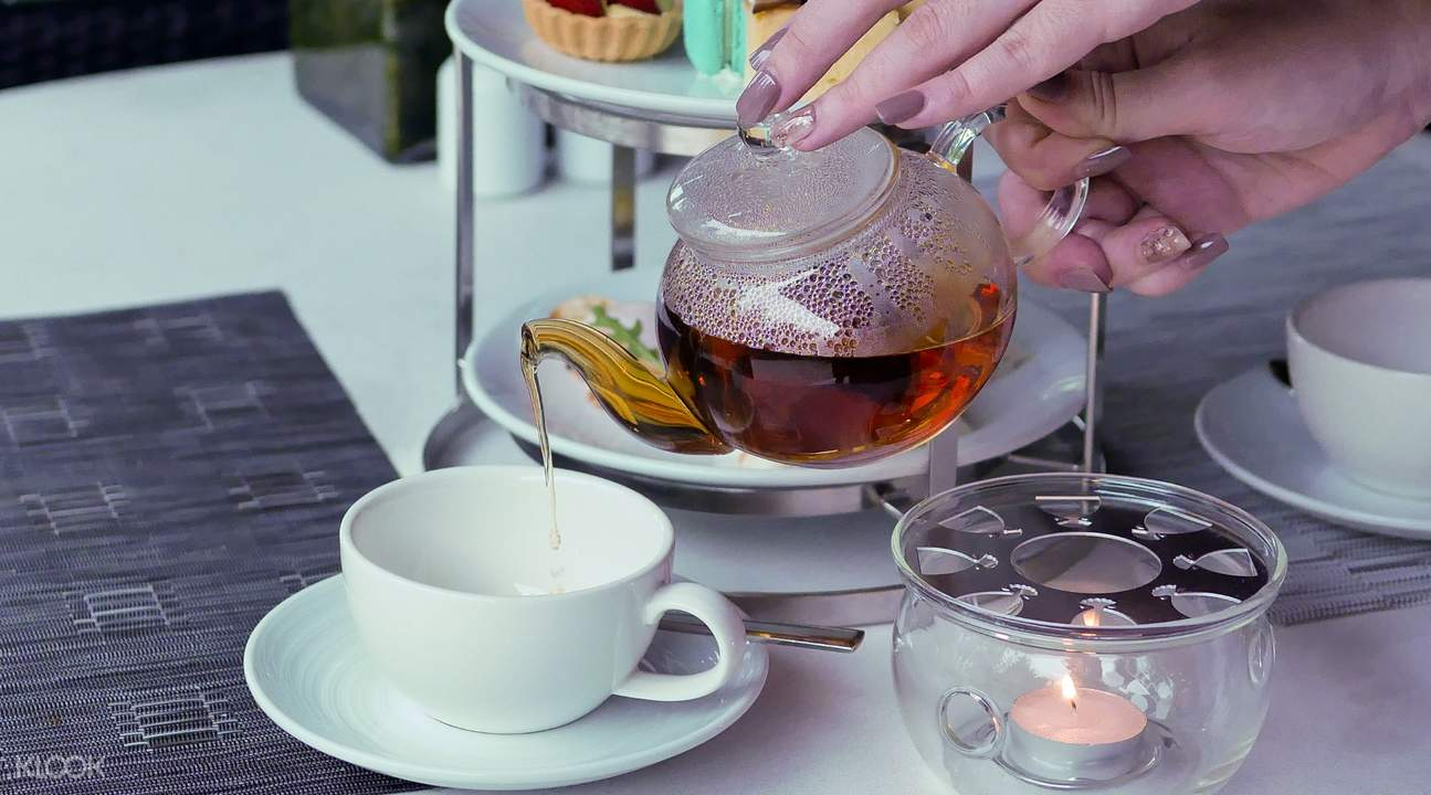 Quality tea serving with good quality snacks at Avani+ Hua Hin Resort