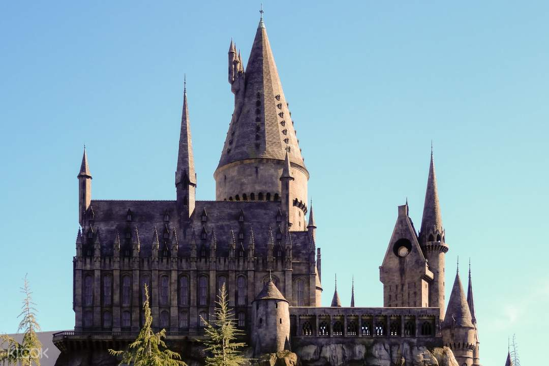 universal studios hollywood hogwarts castle