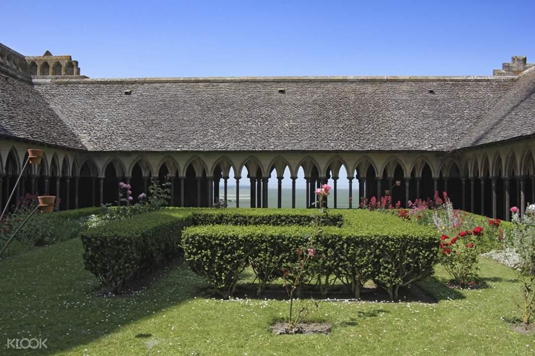 grounds of mont saint michel