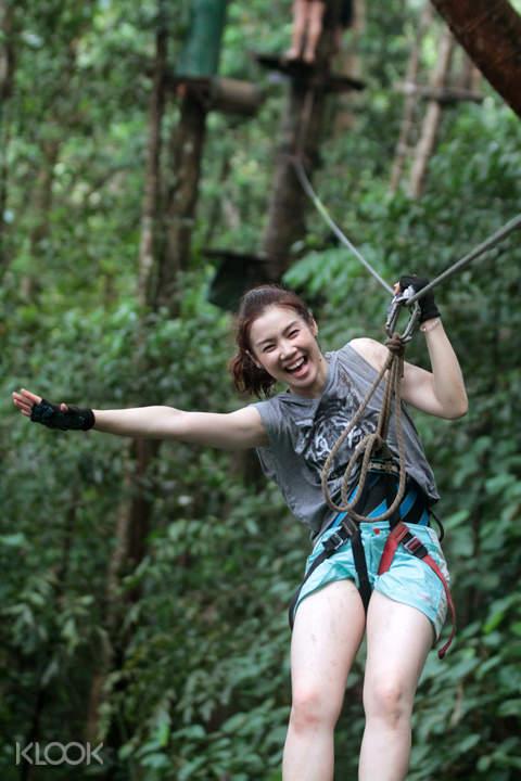 Tree Top Adventures Koh Chang