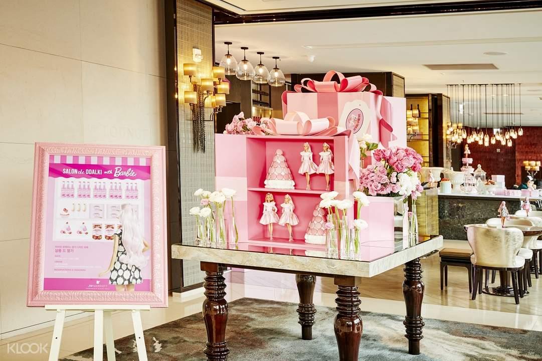 stawberry dessert buffet jw dongdaemum marriot hotel south korea