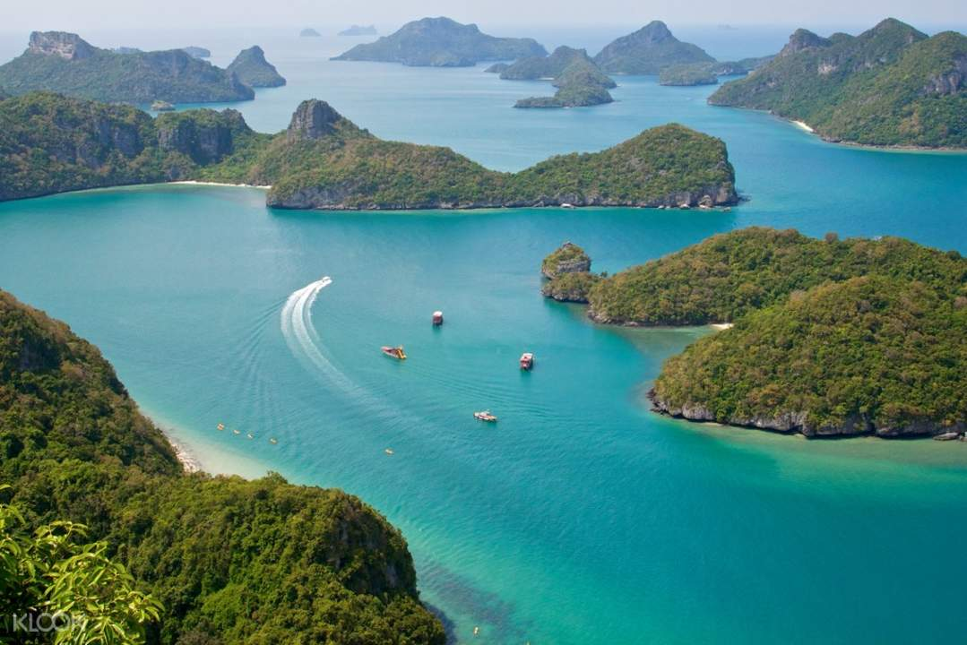 ang thong national marine park and samui island tour