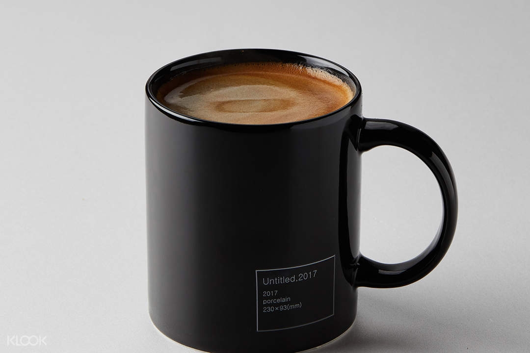 americano coffee YG Republique in Jeju Shinhwa World Jeju South Korea