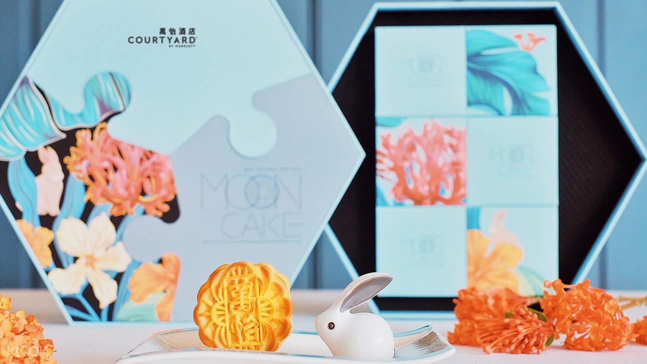 香港沙田萬怡酒店月餅 -嚐月禮盒