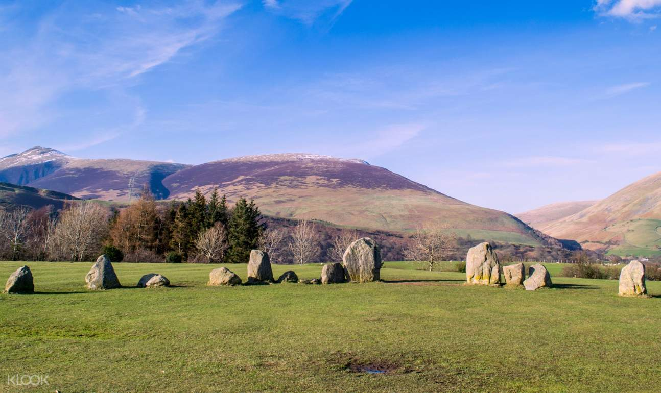 view of the Castlerigg Stone Circle