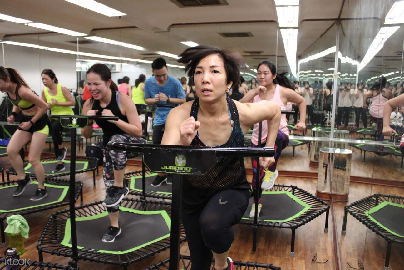 Jumping Fitness Experience in Singapore - Klook Hong Kong