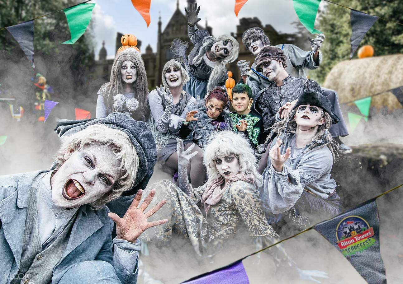 Scarefest at Alton Towers