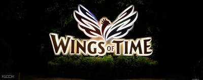 wings of time show in sentosa singapore