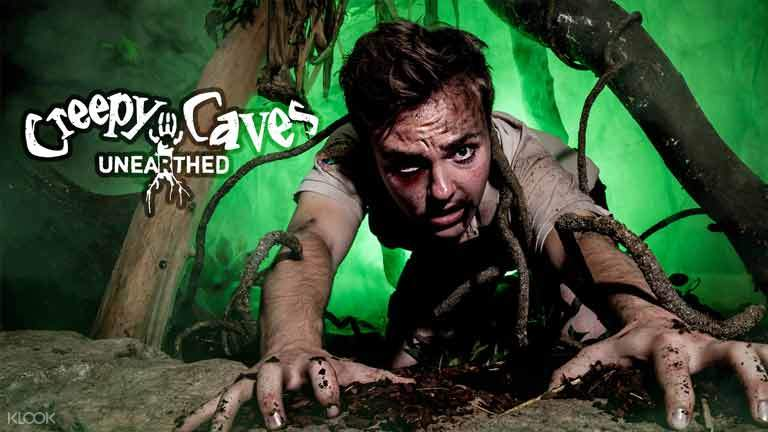 Creepy caves Halloween 2020