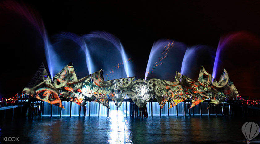 wings of time seats in sentosa singapore