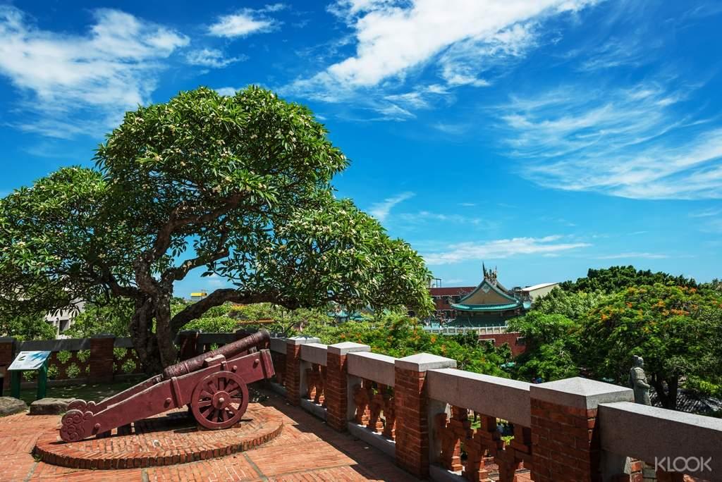 漫步安平古堡,發掘熱蘭遮城歷經歲月更迭的不同樣貌