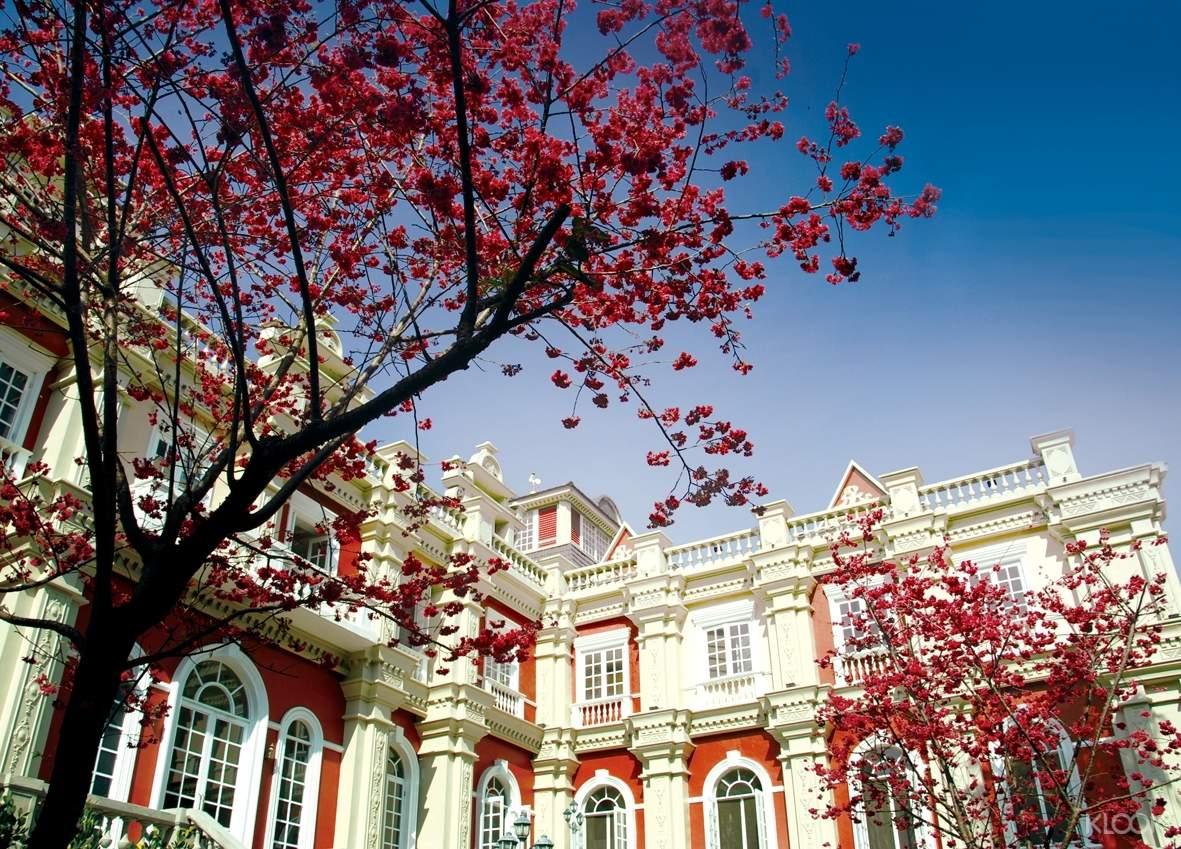 園內的歐洲花園建築令人眼睛一亮,彷彿置身異國